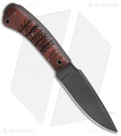 "Winkler Knives WKII Woodsman Fixed Blade Knife Tribal Maple (4.25"" Caswell)"