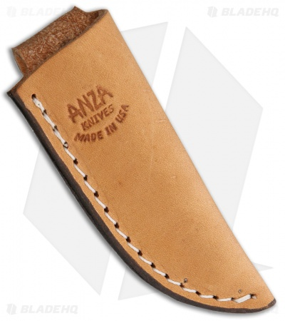 "Anza Knives F1-AJB Fixed Blade Knife Brown Bone (2.50"" Satin)"