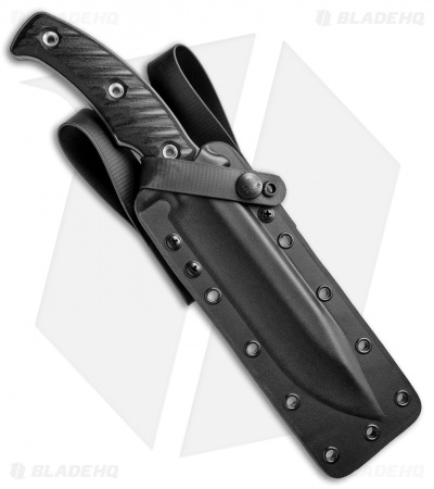 "RMJ Tactical Combat Africa Fixed Blade Black G-10 (7"" Gray)"