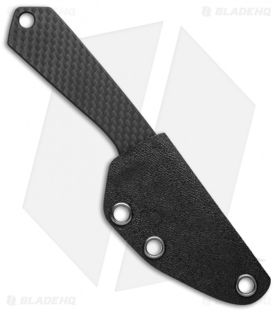 "Bastion Carbon Fiber EDC Fixed Blade Knife (2.25"" Plain) BSTN05"