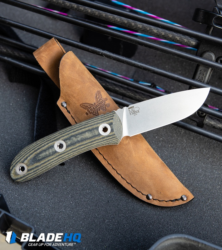 Benchmade Pardue Hunter Fixed Blade Knife
