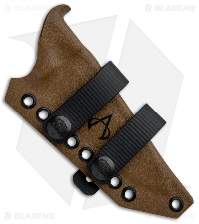 Armatus Carry Benchmade Bushcrafter 162  Architect Sheath - Coyote Brown Kydex