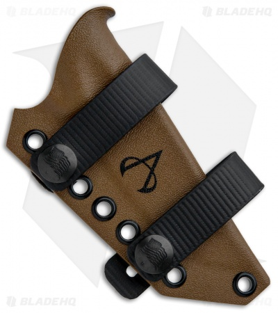 Armatus Carry Benchmade Steep Country Architect Sheath - Coyote Brown Kydex