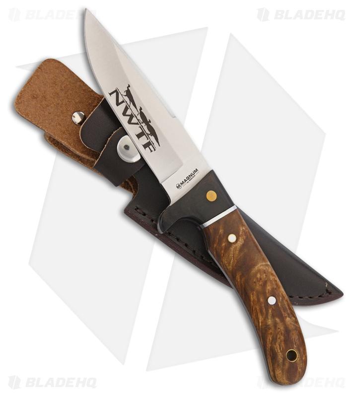 Boker Elk Hunter Fixed Blade Knife Rosewood/Micarta (4 25