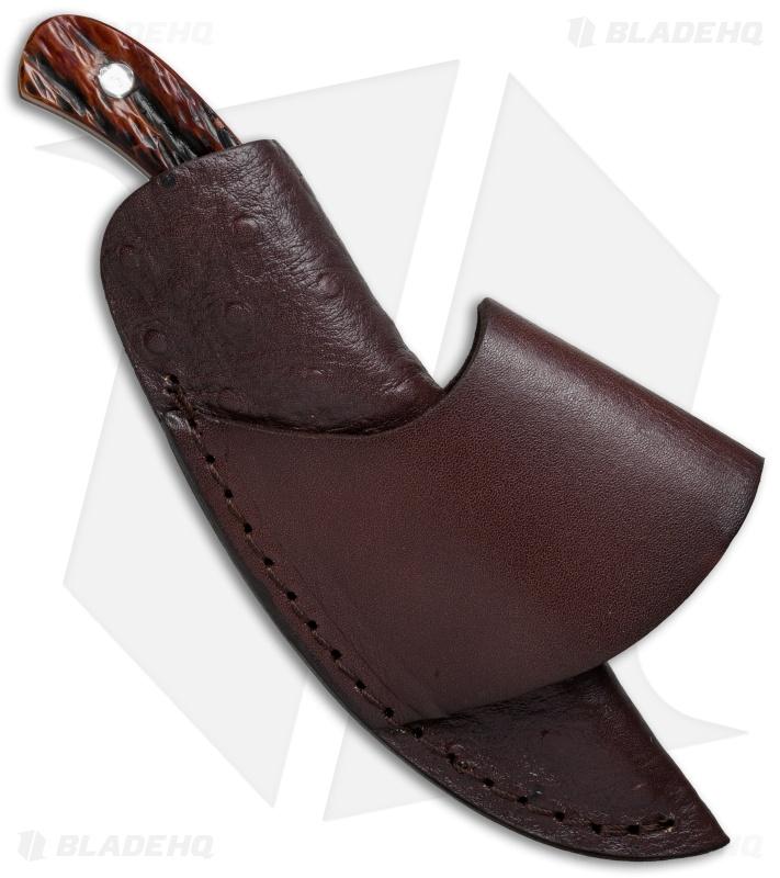 Boker Plus Cowboy Crossdraw Knife Jigged Bone 2 875