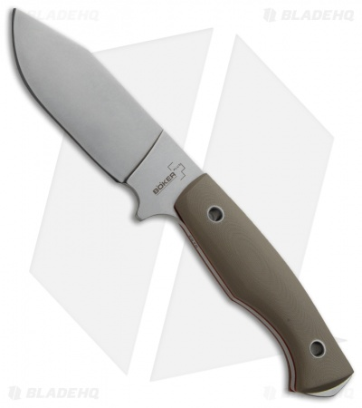 "Boker Plus Rold Scout Fixed Blade Knife (4.5"" Stonewash) 02BO262"