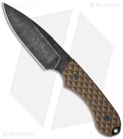 Bradford Knives Guardian4 Knife Coyote Brown G-10 (Sabre/M390/Nimbus)