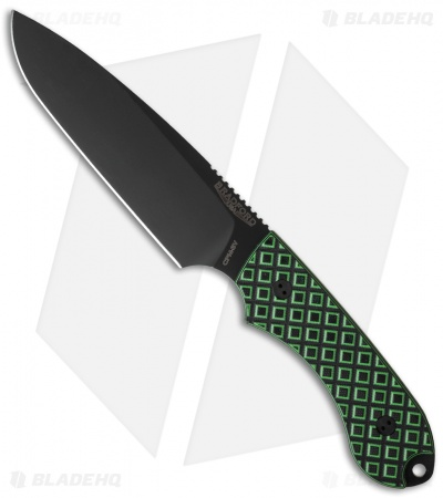 "Bradford Knives Guardian5 Knife Toxic Green G-10 (5.5"" Sabre DLC)"