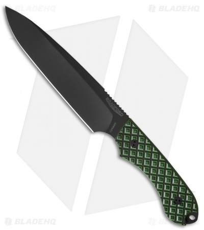 "Bradford Knives Guardian6 Knife Toxic Green G-10 (6.5"" Sabre DLC)"