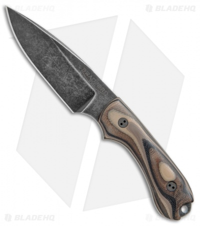 "Bradford Knives Guardian3 Fixed Blade G-Wood (3.6"" False Edge/M390/Nimbus)"