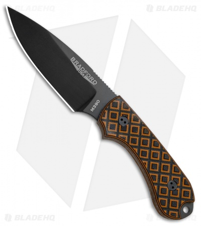 "Bradford Knives Guardian3 Knife Tiger Stripe G-10 (3.5"" Sabre DLC)"