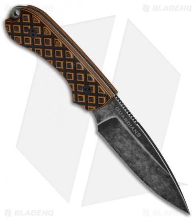 Bradford Knives Guardian3 Fixed Blade Tiger Stripe G-10 (Sabre/M390/Nimbus)