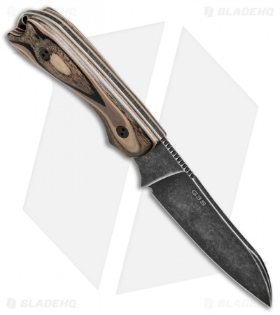 Bradford Knives Guardian3 Fixed Blade 3D G-Wood (Sheepsfoot/M390/Nimbus)
