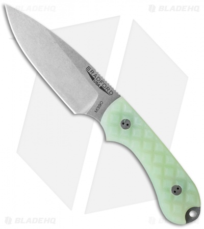 "Bradford Knives Guardian3 Fixed Blade Ghost G-10 (3.5"" Sabre SW)"