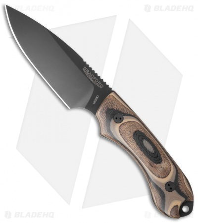 Bradford Knives Guardian4 Knife G-Wood (Sabre/M390/Black DLC)