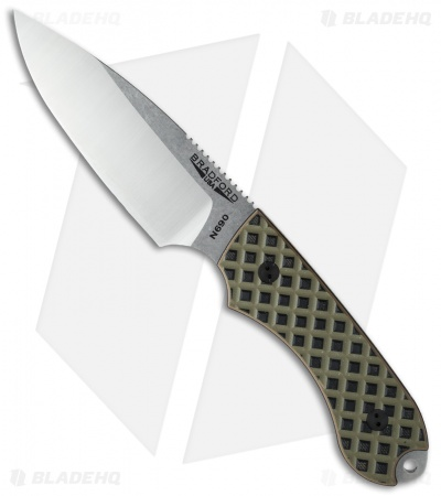 Bradford Knives Guardian4 Knife Camo G-10 (Sabre/Satin) N690