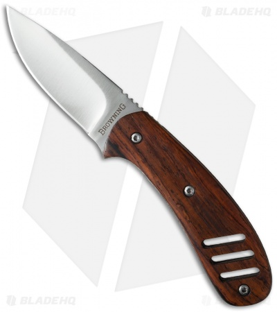 "Browning Cocobolo Fixed Blade Knife (2.75"" Satin) 322803"