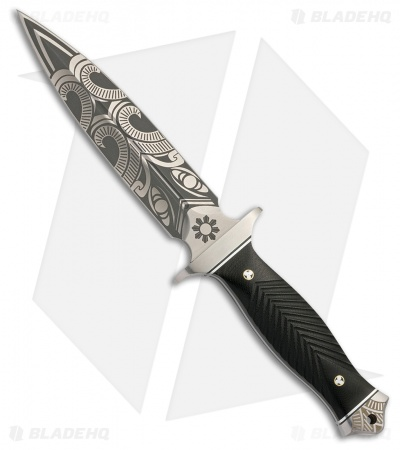 "Browning Black Label Wihongi Signature Dagger Fixed Blade Knife (5.875"" Satin)"