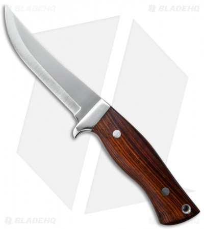 "Brusletto Trillemarka Fixed Blade Knife Wood (4.25"" Polish) Norway"