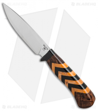 "Buck 197 Yellow Jacket Legacy Collection L.E. Fixed Blade Knife (5"" Mirror)"