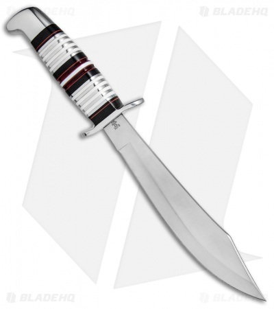 "Buck Scarlet Scimitar L.E. Legacy Edition Fixed Blade Knife Micarta (7.8"" Satin)"