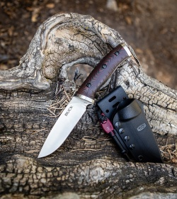 Buck Selkirk Fixed Blade Knife Micarta (4.625