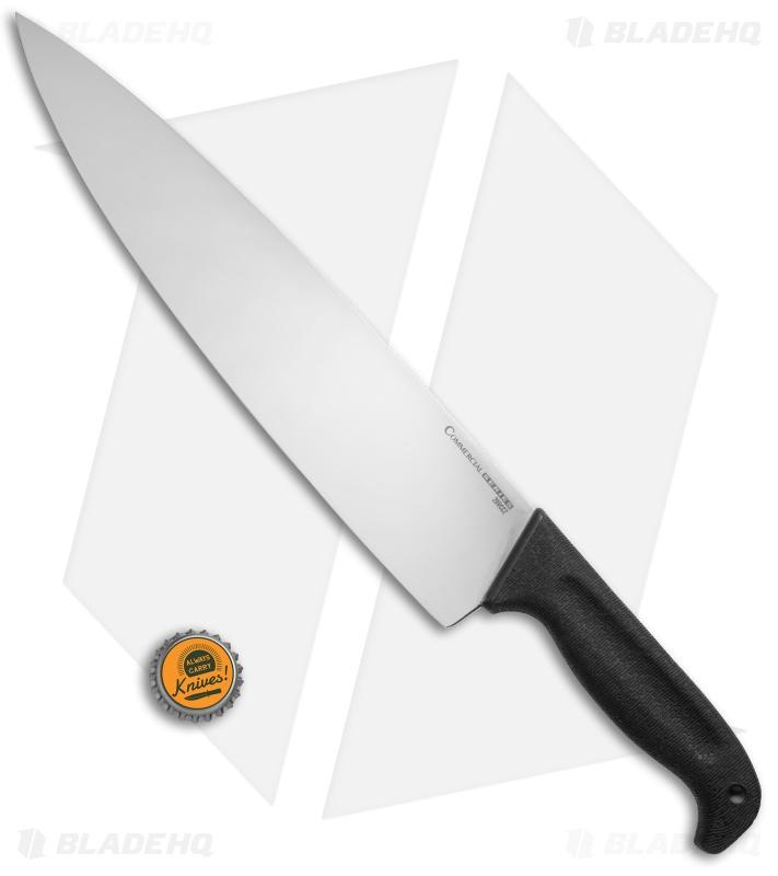 cold steel commercial series 12 chef 39 s knife 12 satin 20vccz blade hq. Black Bedroom Furniture Sets. Home Design Ideas