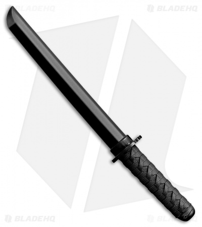 "Cold Steel O Tanto Bokken Trainer Fixed Blade Knife (12.1"" Black) 92BKKAZ"