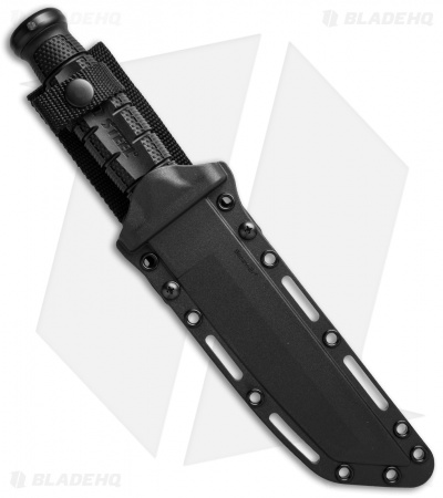 "Cold Steel Leatherneck Tanto Fixed Blade Knife (7"" Black D2) 39LSFT"