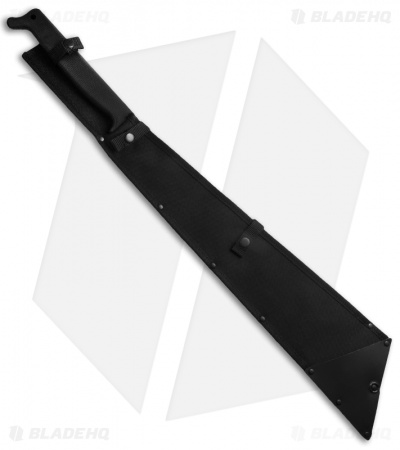 "Cold Steel All Terrain Chopper Machete Fixed Blade Knife (21.5"" Black) 97TMSTS"