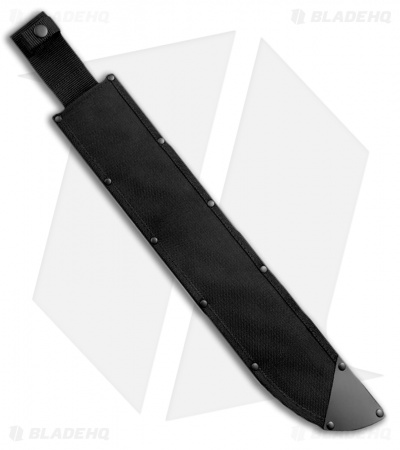 "Cold Steel Latin D-Guard Machete (18"" Black) 97AD18Z"