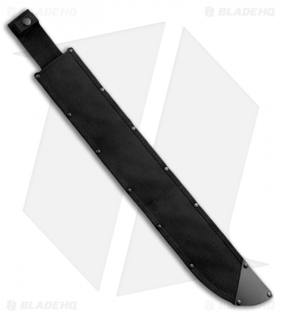 "Cold Steel Latin D-Guard Machete (21"" Black) 97AD21Z"