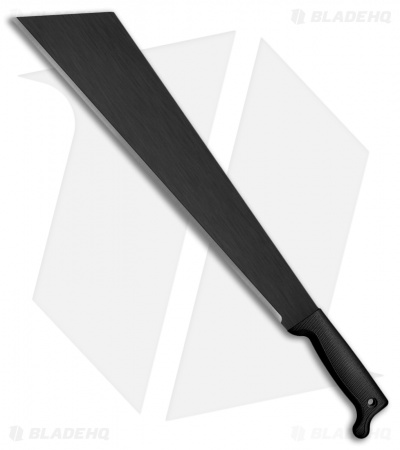 "Cold Steel Slant Tip Machete Fixed Blade Knife (18"" Black) 97ST18S"