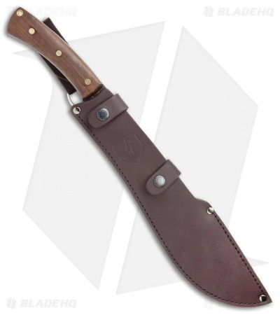 "Condor Jungolo Machete Fixed Blade Walnut (13.3""  Black) CTK3915-13.3"