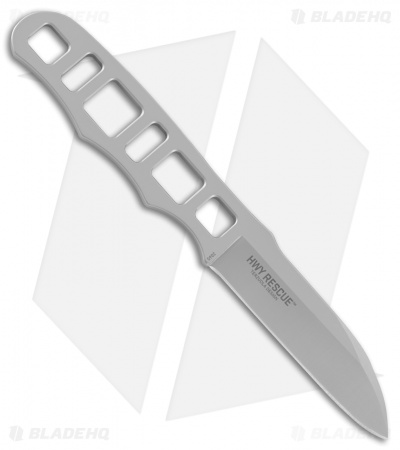"CRKT Terzuola HWY Rescue Fixed Blade Knife (2.8"" Bead Blast) 2065"