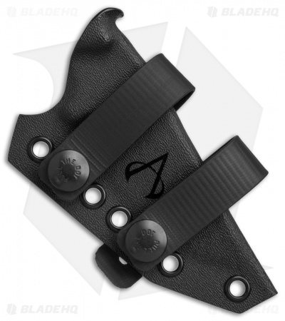 Armatus Carry DPX HEST Architect Sheath Flat Black Kydex