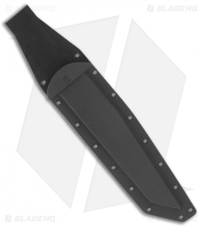 "EnTrek USA Strike Eagle Fixed Blade Knife (9"" Black)"