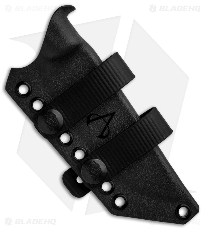 Armatus Carry ESEE-4HM Architect Sheath Flat Black Kydex