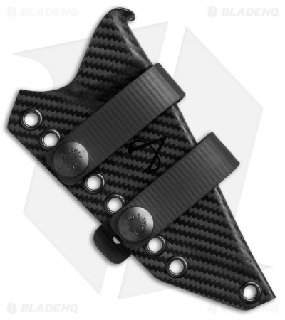 Armatus Carry ESEE-3 Architect Sheath Black Carbon Kydex