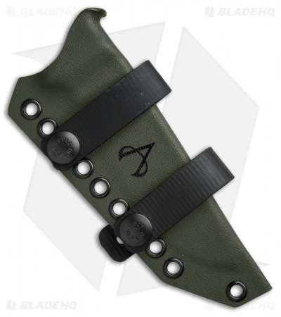 Armatus Carry ESEE-4 Architect Sheath OD Green Kydex