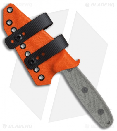 Armatus Carry ESEE Camp Lore RB3 Architect Sheath Hunter Orange Kydex