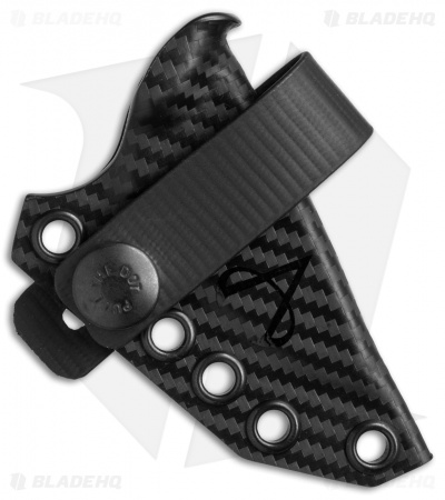 Armatus Carry ESEE Candiru Architect Sheath Black Carbon Kydex
