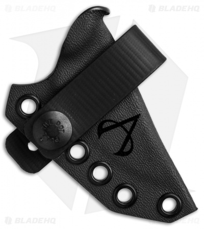 Armatus Carry ESEE Candiru Architect Sheath Flat Black Kydex
