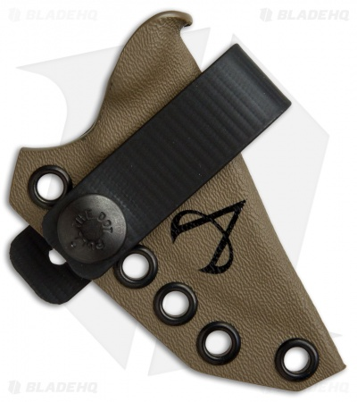 Armatus Carry ESEE Candiru Architect Sheath Flat Dark Earth Kydex
