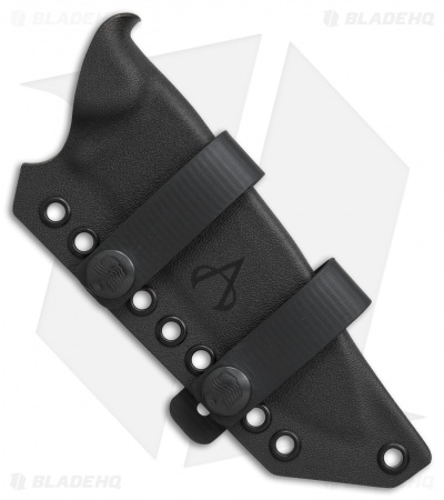 Armatus Carry ESEE Laser Strike Architect Sheath Flat Black Kydex