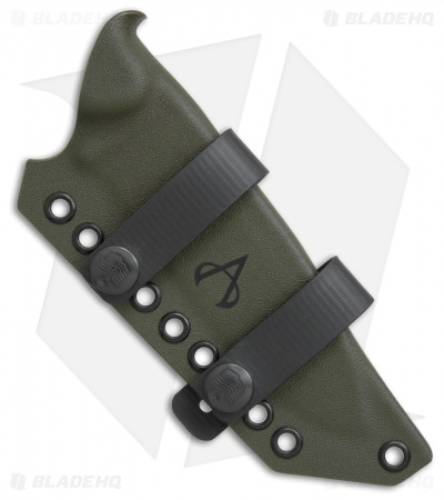 Armatus Carry ESEE Laser Strike Architect Sheath OD Green Kydex