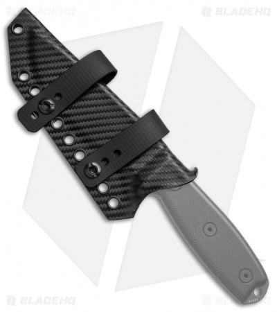 Armatus Carry ESEE-4 Architect Sheath Black Carbon Kydex