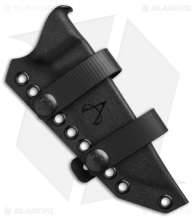 Armatus Carry ESEE-4 Architect Sheath Flat Black Kydex