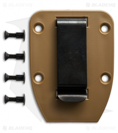 ESEE Knives 3/4 Clip Plate for ESEE-4 (Coyote Brown)