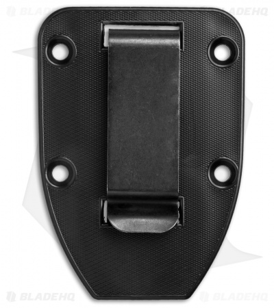 ESEE Knives 3/4 Clip Plate for ESEE-4 (Black)